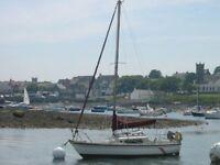 Pandora Mk1 Fin Keel Sailing Yacht/Boat/Cruiser