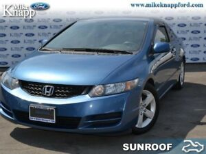 2009 Honda Civic LX SR  LX, Coupe, Manual