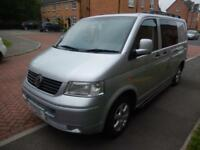 Volkswagen Transporter T5 T28 2 Berth End Lounge Campervan Motorhome For Sale