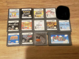 nintendo ds games and pokemon games