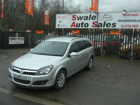2005 VAUXHALL ASTRA DESIGN 1.7CDTi ESTATE ONLY 97,657 MILES