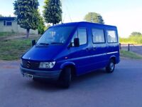 Mercedes sprinter 214 disabled minibus **VERY RARE** low mileage 34,000 miles air conditioning!!