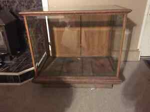 Wood cabinet asking  $100 obo