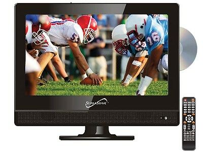 "Supersonic SC-1312 13.3"" LED HDTV Television +Built-in DVD Player +USB/SD/HDMI"