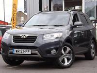 2012 Hyundai Santa Fe 2.2 CRDi Premium 5dr Auto [5 Seats] 5 door Estate