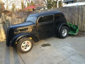 1951 anglia roller project