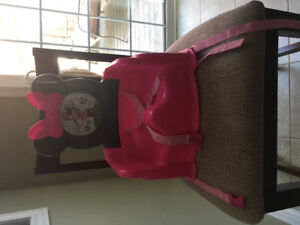 Disney Minnie Mouse Portable High Chair/Booster Seat