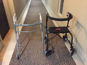 Walkers for Seniors (2 different ones)