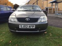 Toyota Corolla 1.4 saloon type great drive 1 owner from new hpi clear