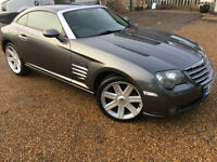 2004 '04' Chrysler Crossfire 3.2 AUTO Sports Coupe. Petrol. Automatic. Px Swap