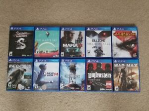10 PS4 Games