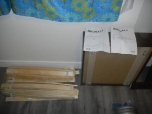 Ikea Bed frame 2  storage drawers
