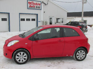 2007 TOYOTA YARIS 3 door Hatchback