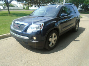 SOLD SOLD SOLD 2008 GMC Acadia SUV with  2 YEAR FREE WARRENY