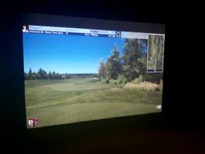 Cours de golf intérieur