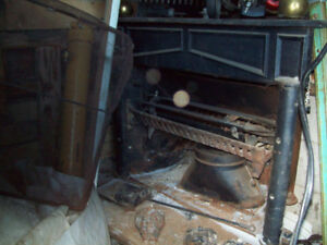 wood stove franklin fire place