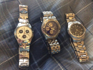Men's Watches good condition