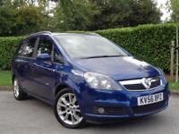 2006 Vauxhall Zafira 1.9CDTi 16v (150ps) automatic Design**7 SEATER + LONG MOT**