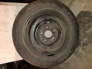 145/80R16 Spare Tire was on 2011 Dodge Journey R/T