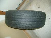 4 pneus d'été 15 pouces pour voiture Volvo modèle S70 et jantes