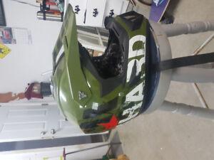 ATV helmet !!!