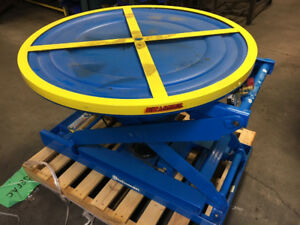 Used Bishamon EZ Loader Pallet Lifters - Lift Table