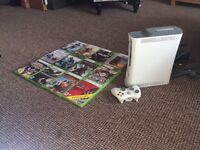 XBOX 360, Controller, 12 Great Games & 60MB Hard-DRIVE