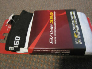 BASE360® Cut Protective Hockey Socks - NEW, in Package $15.00