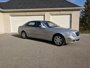 2005 Mercedes S500 AWD, extremely low km's