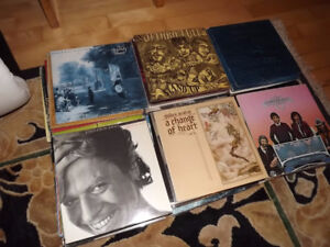 Vinyls LP rock collection