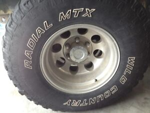 Toyota Rim and Tires
