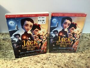 DVD Movie - Jack and the Cuckoo-Clock Heart. $3.00