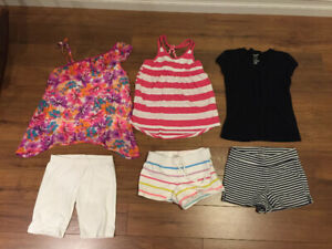 girls clothing lot size 8