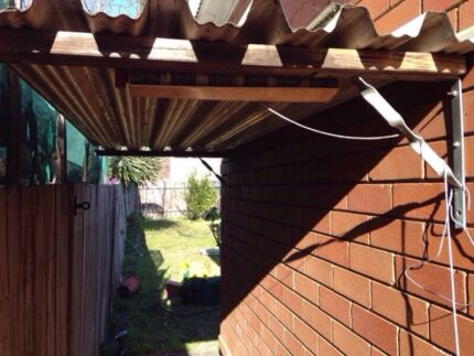 Awning shelter 2.5m x 930mm  Bass Hill Bankstown Area Preview
