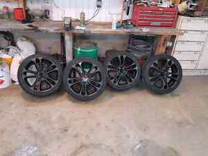 """4x mags 18"""" 5 trous universel 225-45-18"""