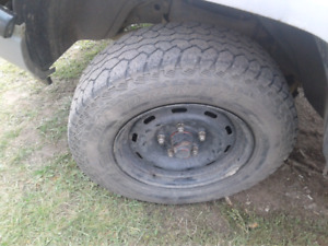 LOOKING, FOR A 245 75 R16 , TIRE & RIM - 5 BOLT PATTERN (DODGE )