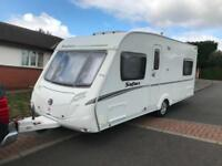 Swift Safari 495 end bedroom/fixed double bed excellent condition throughout