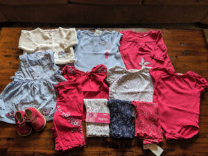 HUGE Gymboree Baby Girl Lot of 16 pieces in 3-6 months