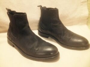 Almost New Men's B2 Black Leather Chelsea Boots 43M(10.5/11)