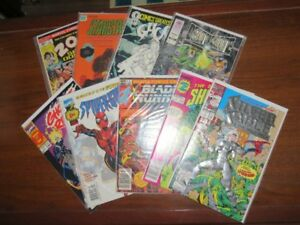 Vintage Super Hero First Issue Comic Book Collection Lot