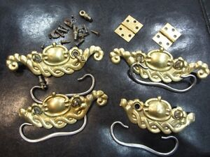 antique drawer pulls and hinges