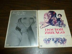 Lot of 2 DVD's plus cd Doctor Zhivago, Jenifer Lopez