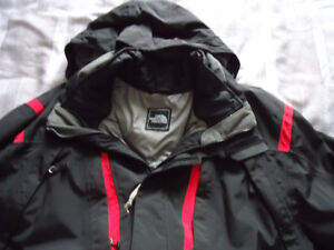 Mans North Face Winter Jacket Size large New