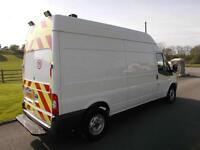 FORD TRANSIT 350 125PS LWB HI ROOF VAN 13 REG 97,400 MILES AIR CON