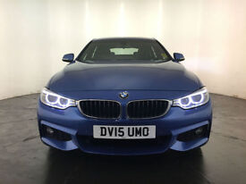 2015 BMW 420D GRAN COUPE M SPORT AUTO COUPE 1 OWNER BMW SERVICE HISTORY FINANCE