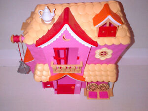 Our Lalaloopsy Minis Ferris Wheel Bus Train Doll Houses Dolls