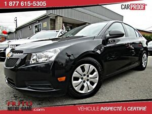 Chevrolet Cruze AUTOMATIQUE /Air 34 $ /SEM 0$ COMPTANT 2012