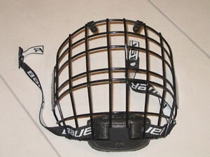 Bauer RBE III Jr Black Wire Cage Face Mask / grille hockey