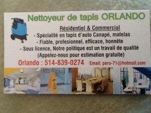 CARPET CLEANER / NETTOYEUR DE TAPIS RESIDENTIEL & COMMERCIAL