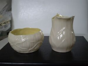 Belleek Porcelain Lily Cream and Sugar Kitchener / Waterloo Kitchener Area image 4